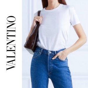 Valentino High Waist Slim Fit Jeans